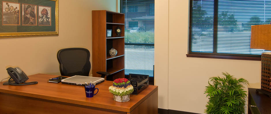 Professional, flexible, care-free office space