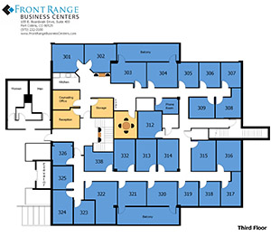 Fort Collins Office Floor Plan