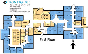 Loveland Office Floor Plan